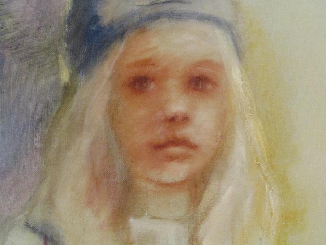 Signed Bora - Oil on Canvas - 3