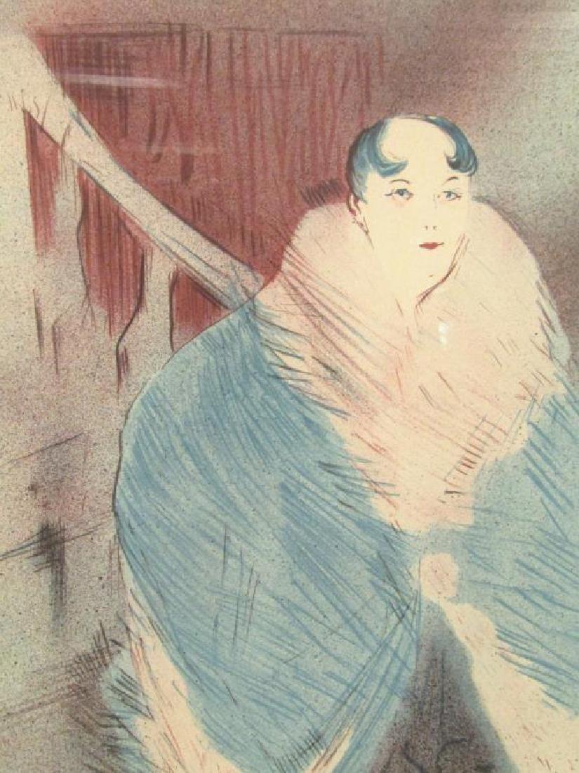 After Toulouse Lautrec Lithograph - 3