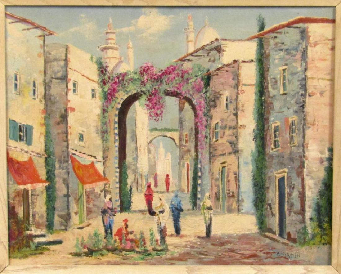 Signed C. Horsten - Oil on Canvas