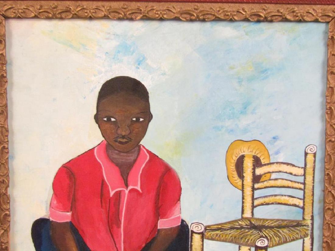 Emmanuel Midi - Hatian Oil on Canvas - 3