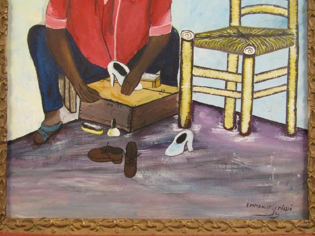 Emmanuel Midi - Hatian Oil on Canvas - 4