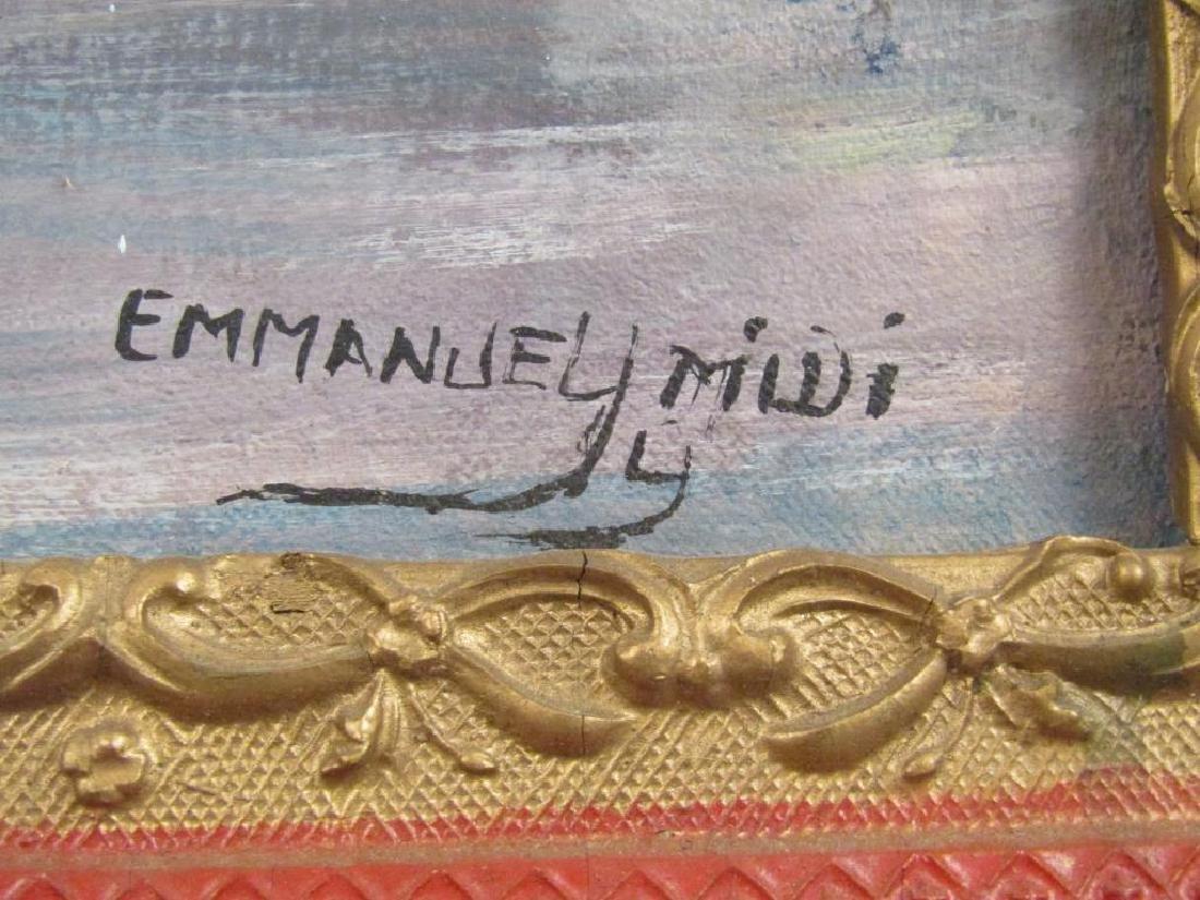 Emmanuel Midi - Hatian Oil on Canvas - 5