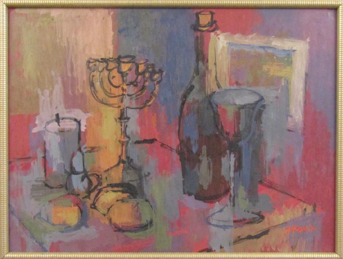 Z. Kravin - Oil on Artist Board