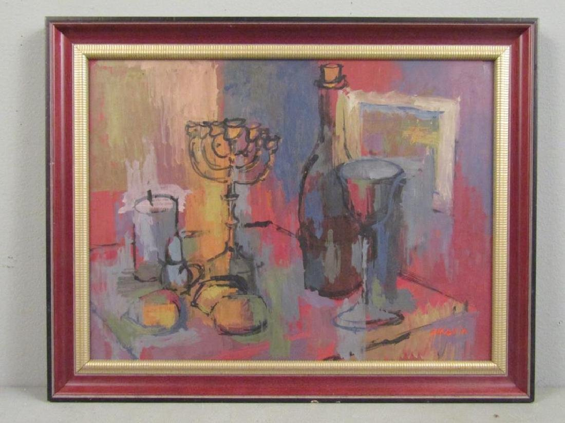 Z. Kravin - Oil on Artist Board - 2