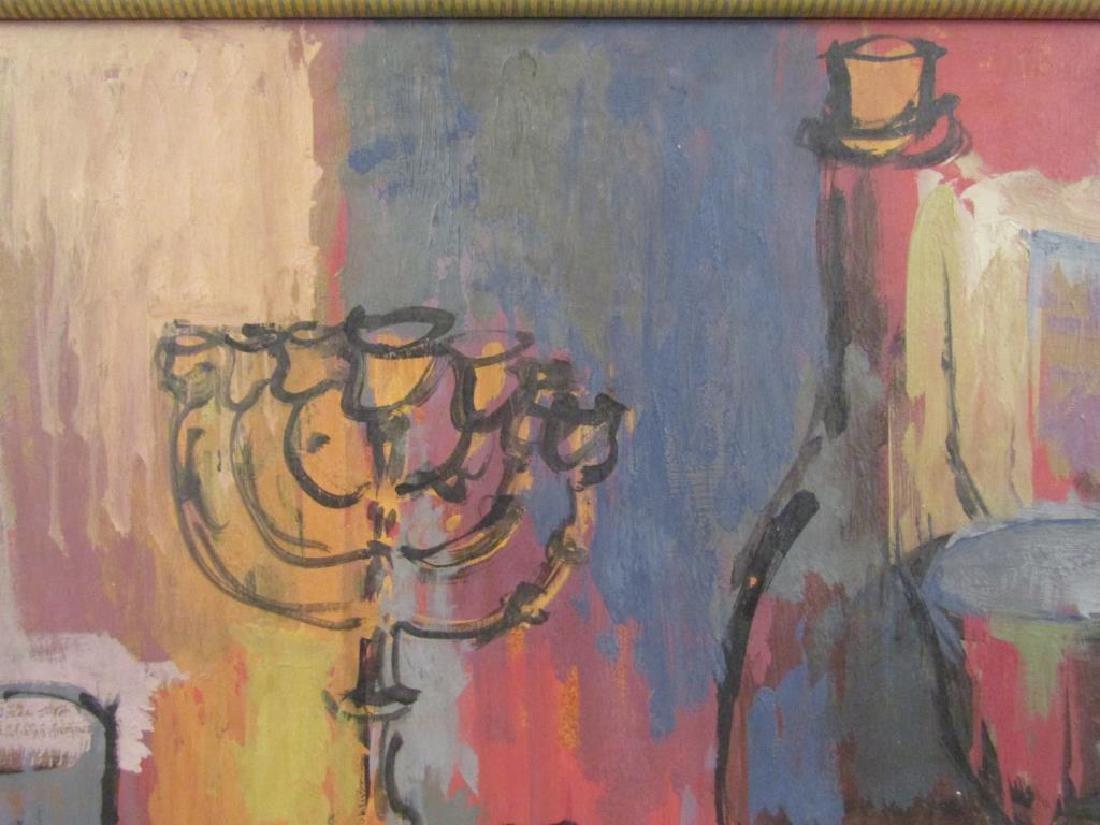 Z. Kravin - Oil on Artist Board - 3