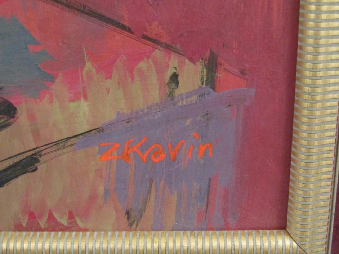 Z. Kravin - Oil on Artist Board - 4