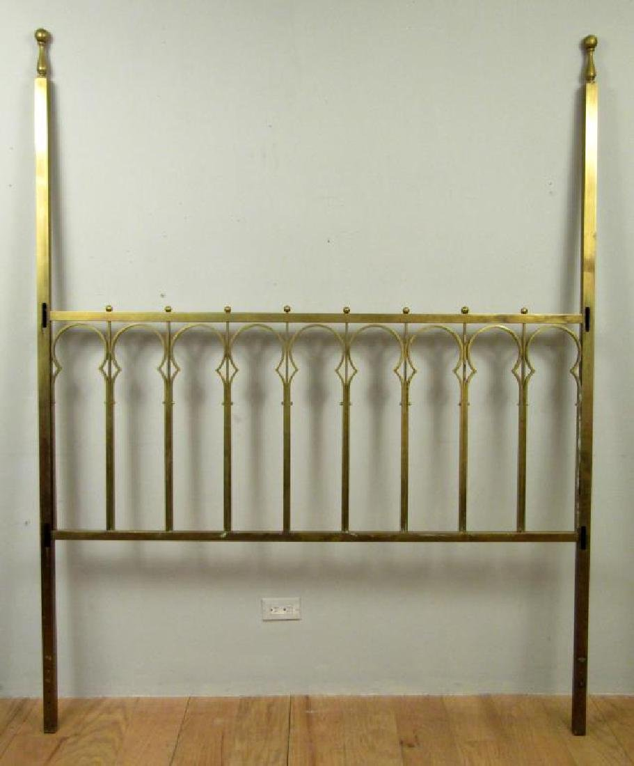Brass Plated Headboard