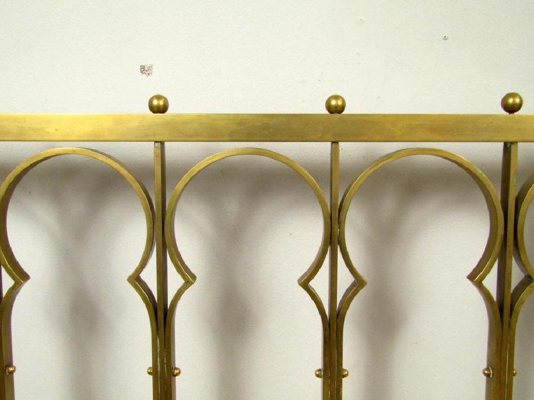 Brass Plated Headboard - 3