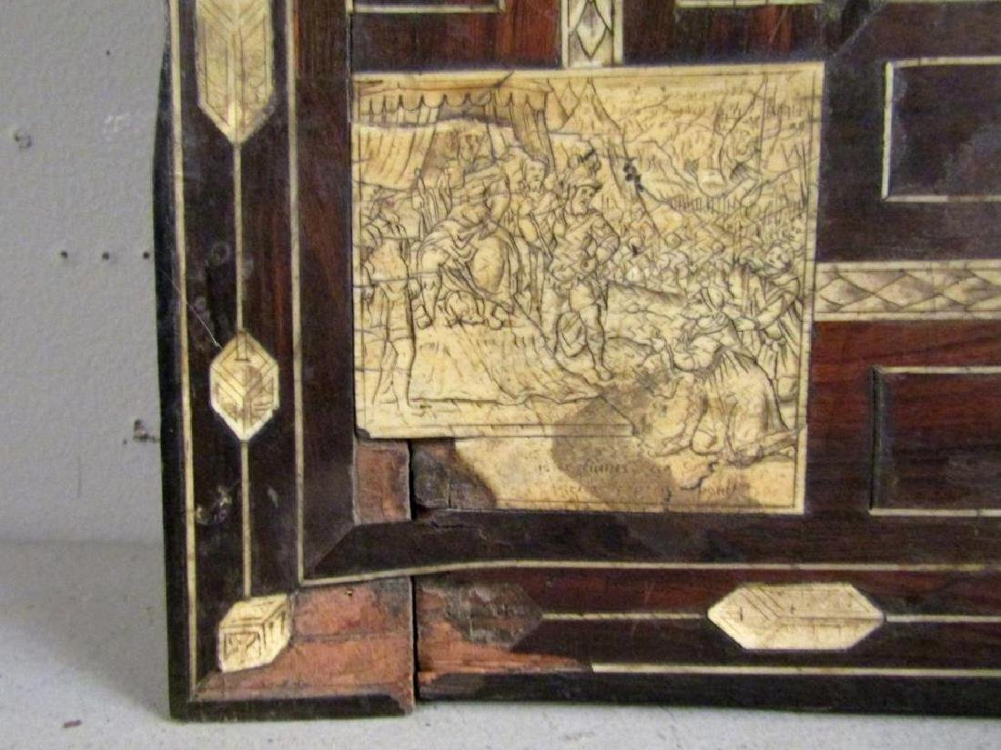 Antique Italian Large Rosewood Panel (As Is) - 5