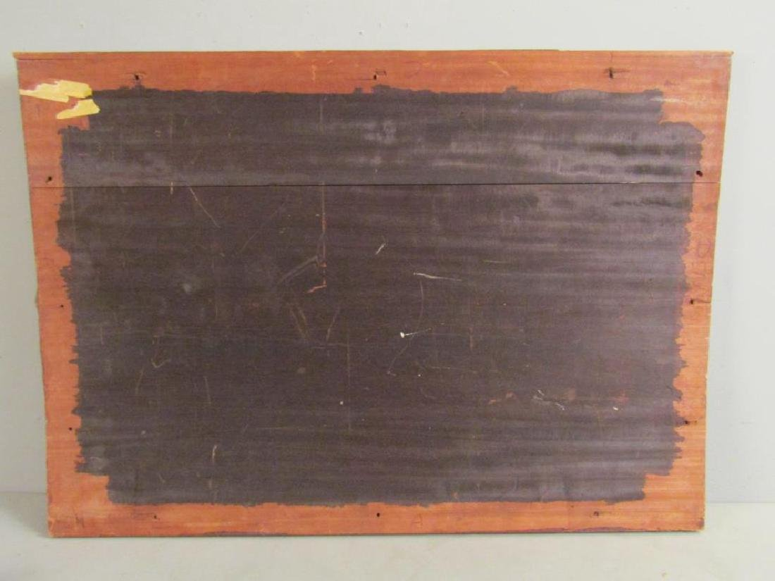Antique Italian Large Rosewood Panel (As Is) - 8