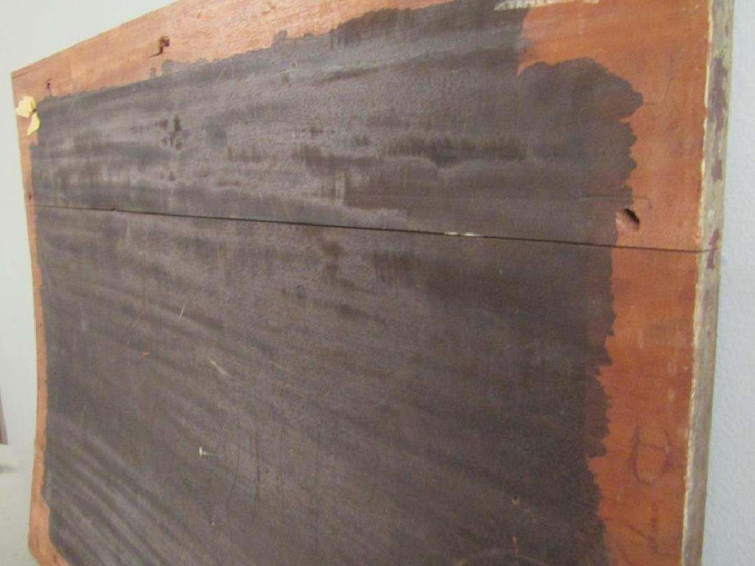 Antique Italian Large Rosewood Panel (As Is) - 9
