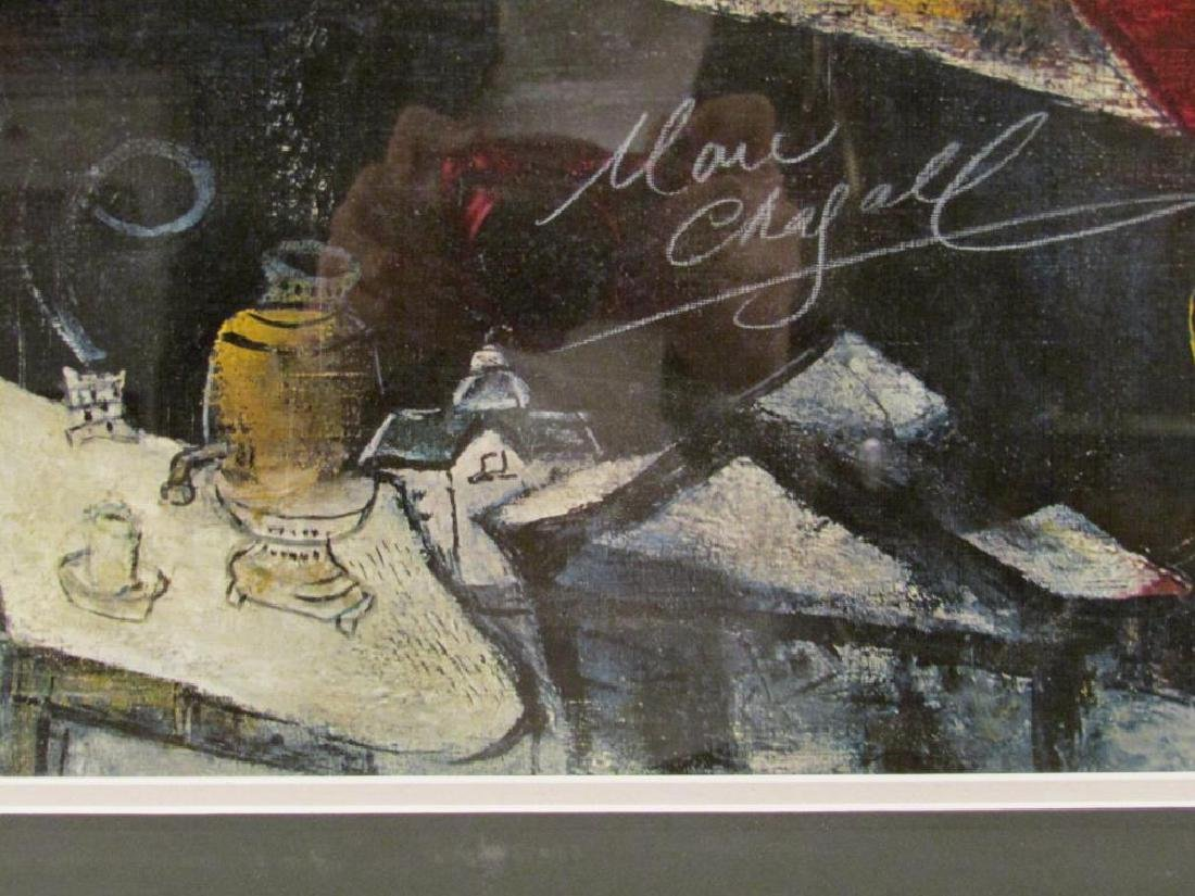 Signed Marc Chagall Poster - 4