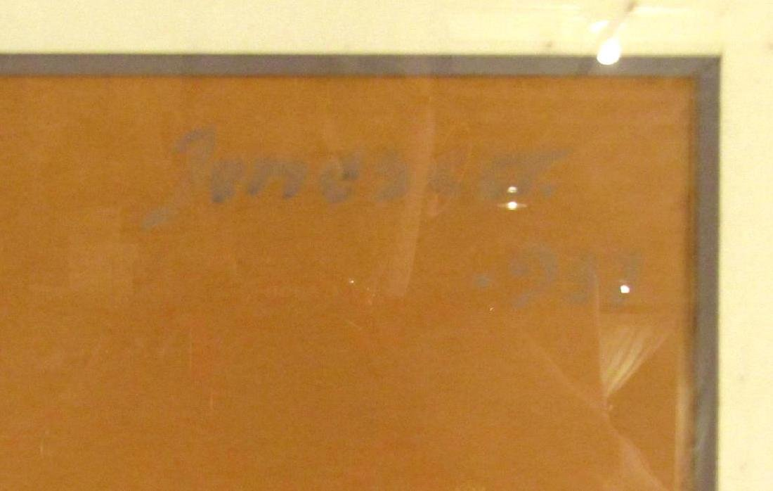 Signed Jonesca (?) - Oil on Paper - 5
