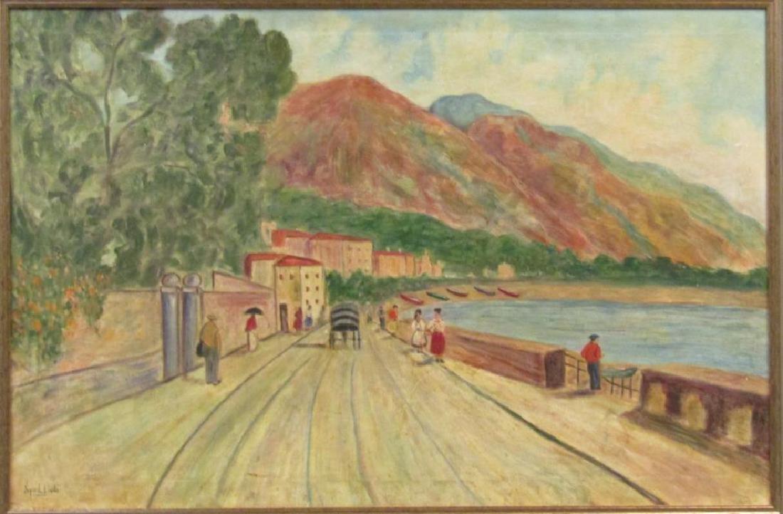 Syril Levitz - Oil on Canvas