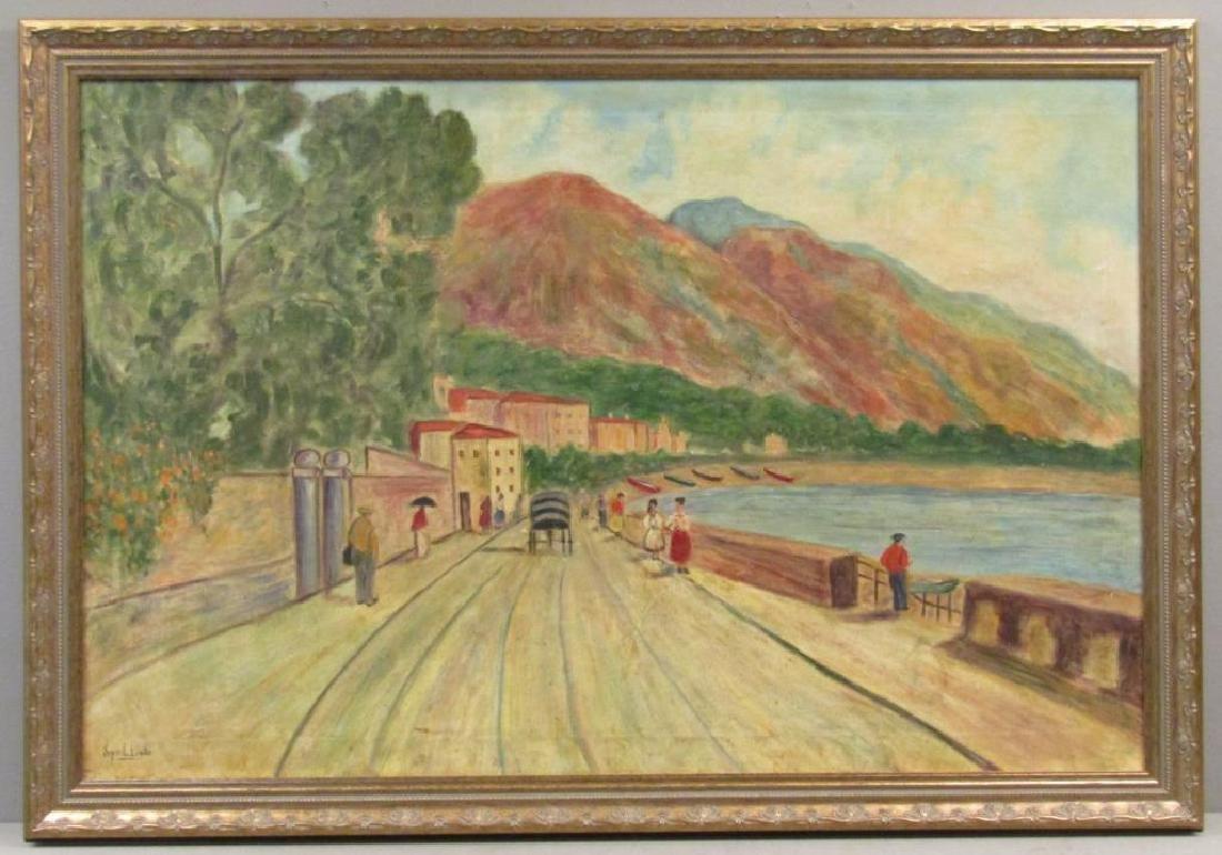 Syril Levitz - Oil on Canvas - 2