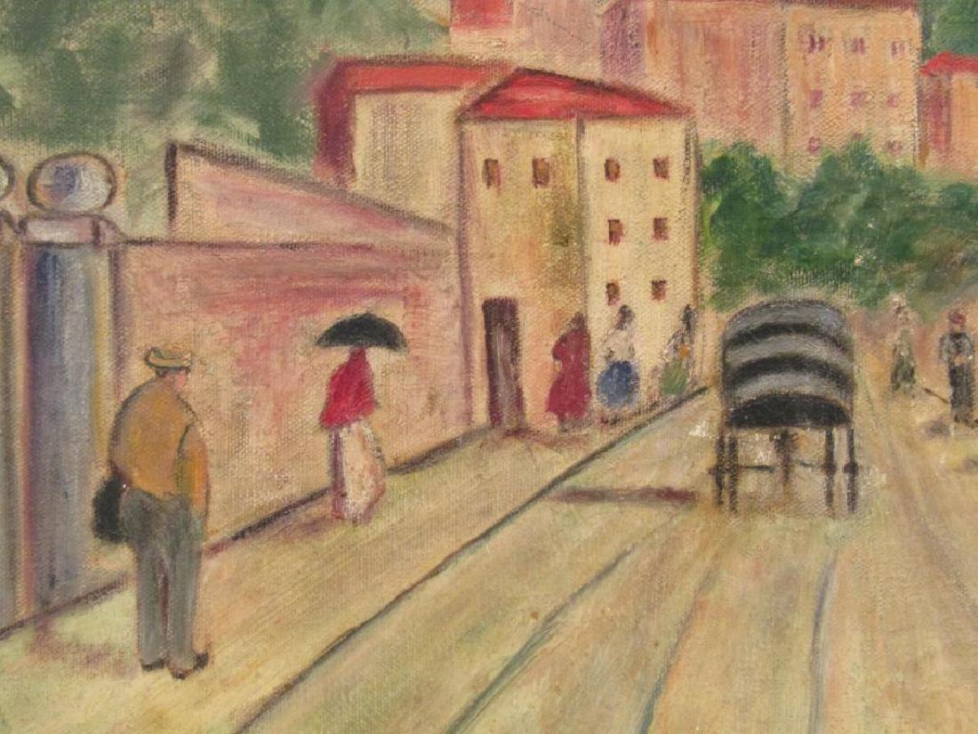 Syril Levitz - Oil on Canvas - 3