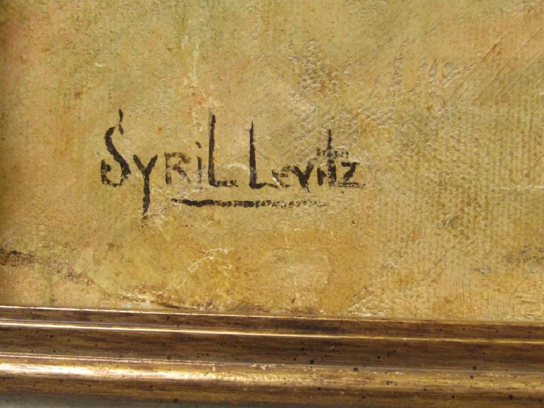 Syril Levitz - Oil on Canvas - 4