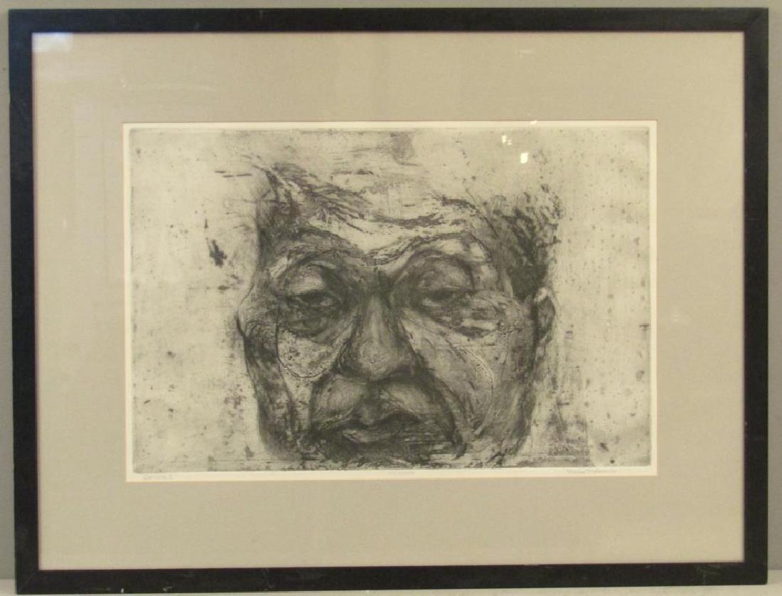 Munio Makuuchi (American, 1934-2000) - Etching - 2