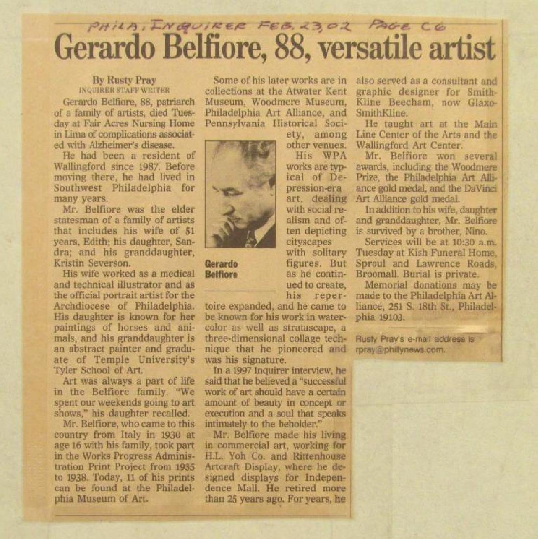 Gerardo Belfiore (American, 1914-2002) - Oil - 5