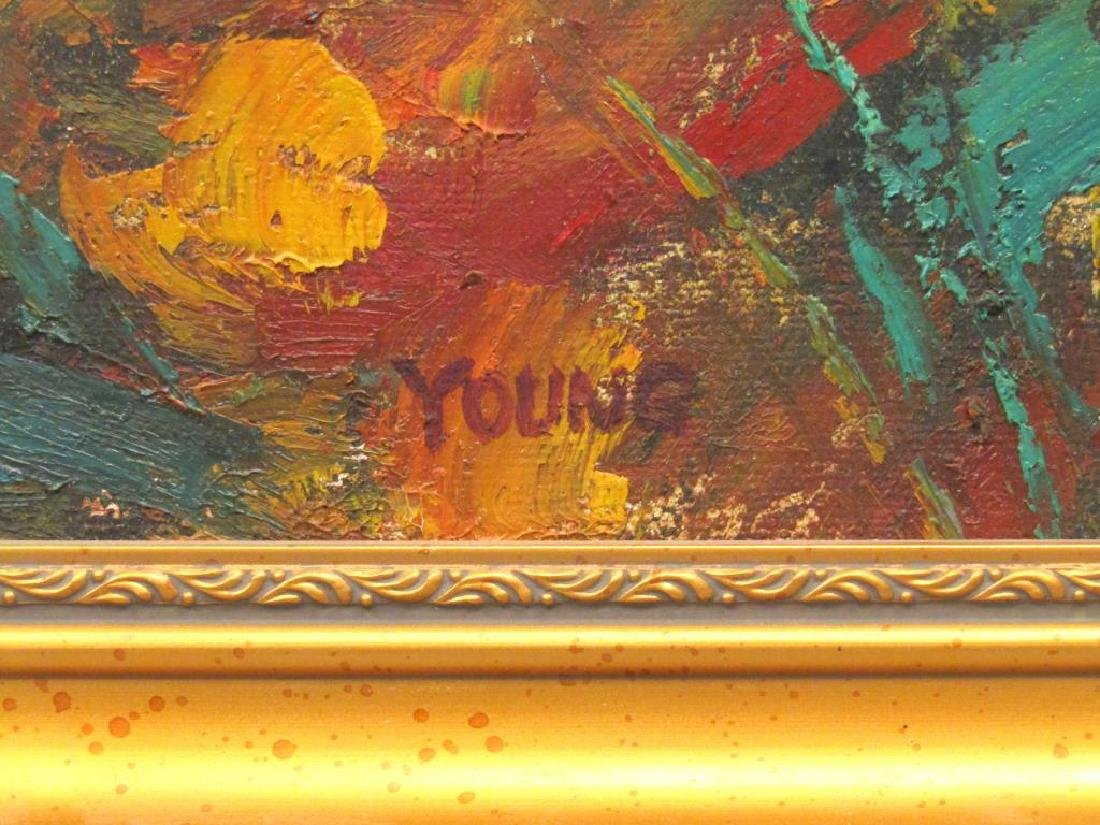 Signed Young - Oil on Canvas - 4