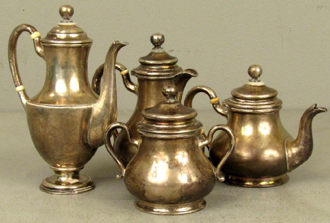 Russian Silver Tea Ensemble ***