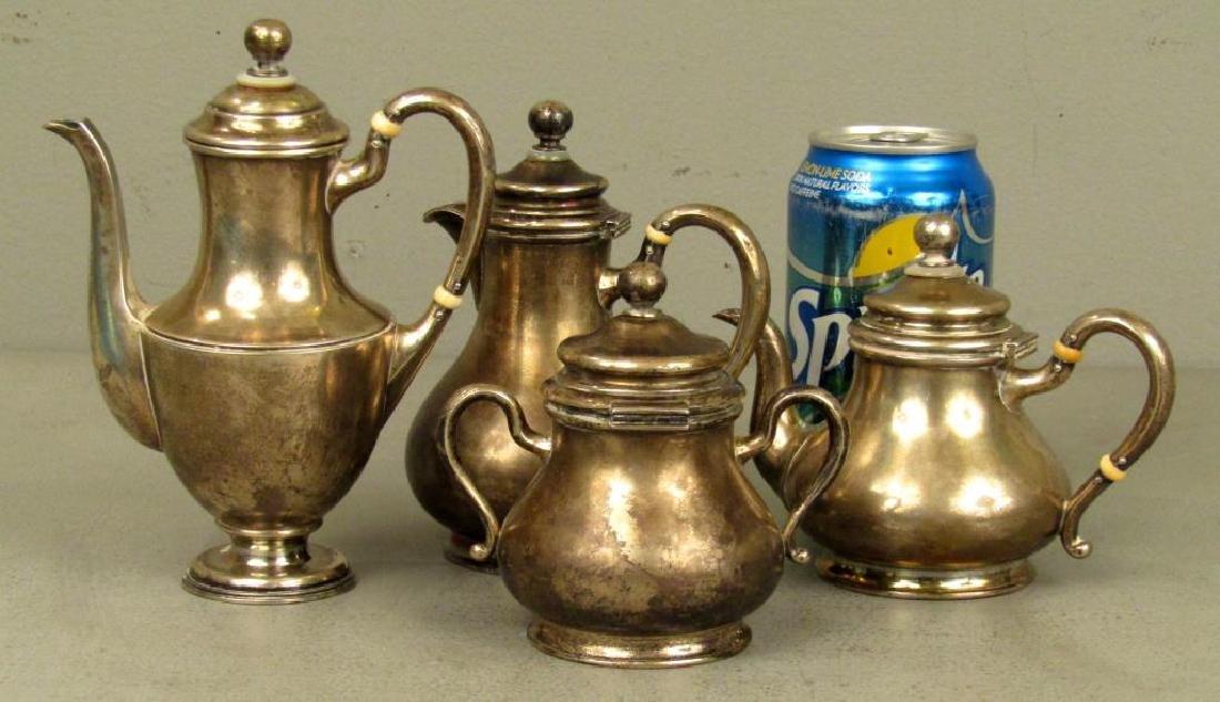 Russian Silver Tea Ensemble *** - 2