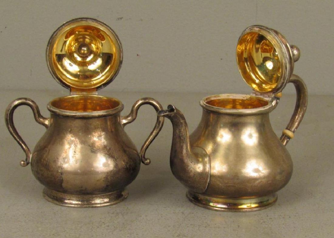 Russian Silver Tea Ensemble *** - 6