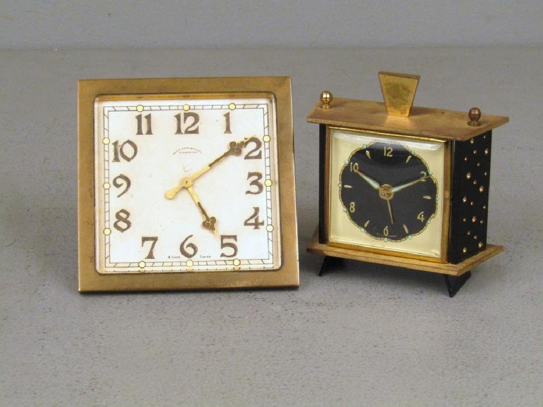 2 Table Top Clocks
