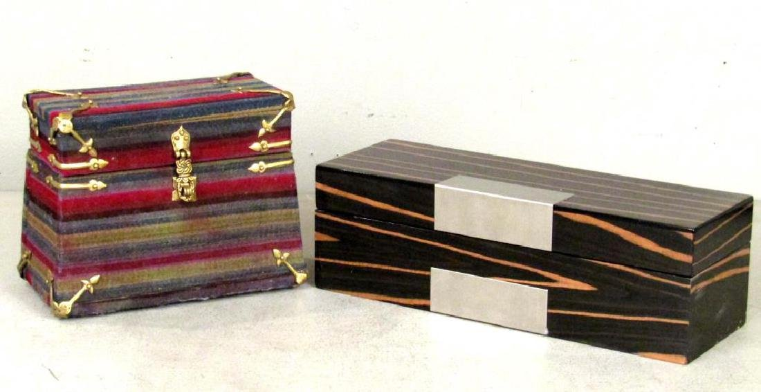 2 Jewelry Boxes