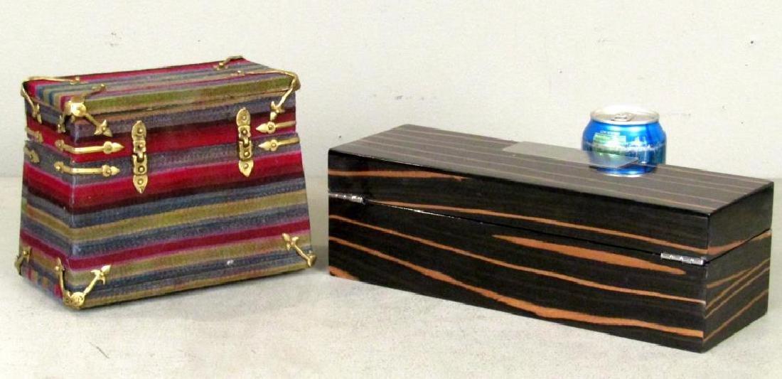 2 Jewelry Boxes - 2