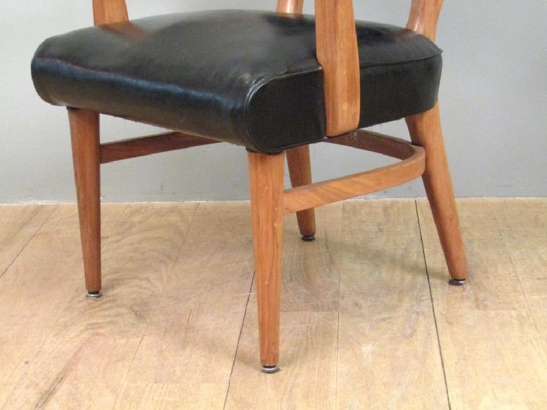 Pair W.H. Gunlocke Chair Co. Arm Chairs - 5