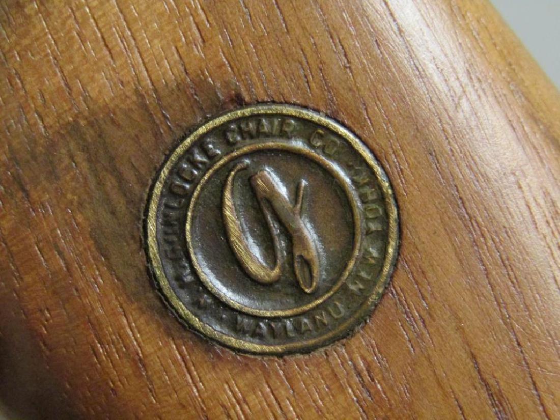 Pair W.H. Gunlocke Chair Co. Arm Chairs - 7