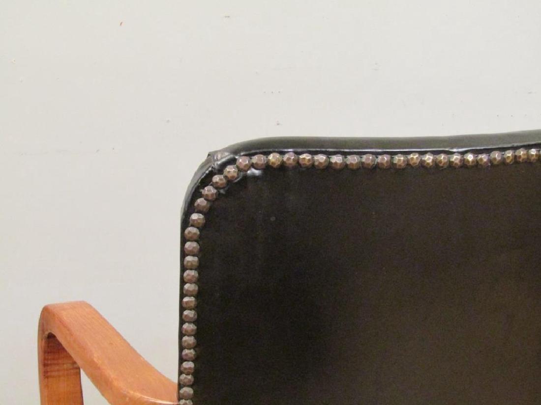 Pair W.H. Gunlocke Chair Co. Arm Chairs - 6