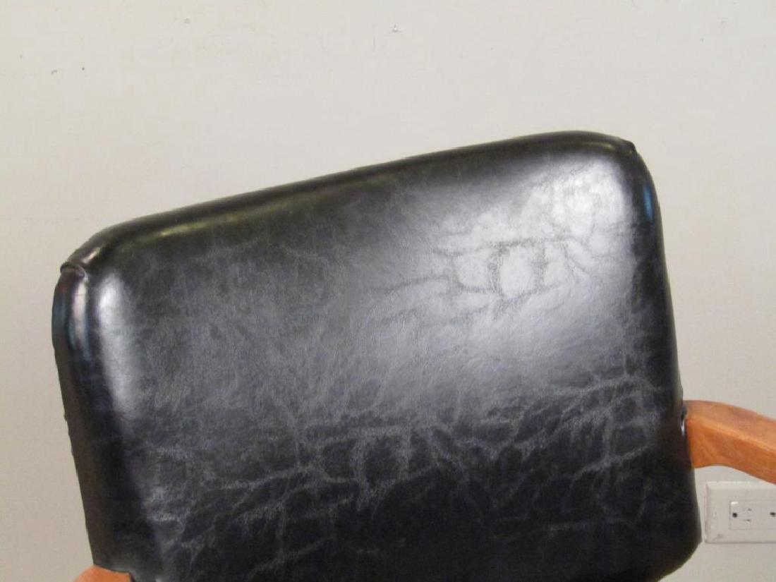 Pair W.H. Gunlocke Chair Co. Arm Chairs - 3