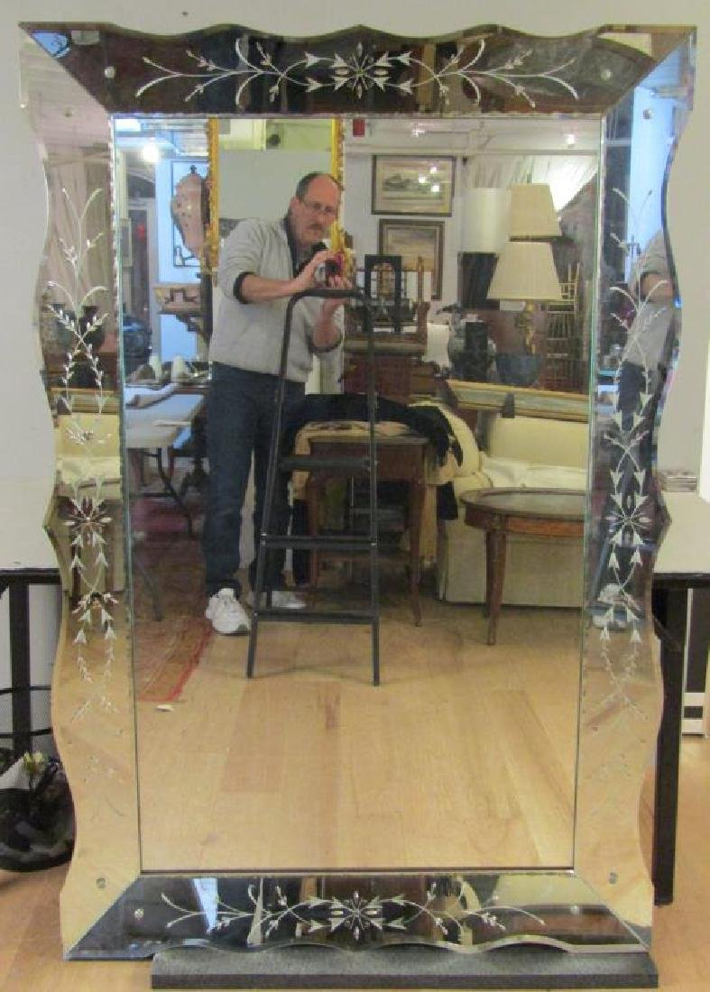 Mid Century / Art Deco Large Mirror
