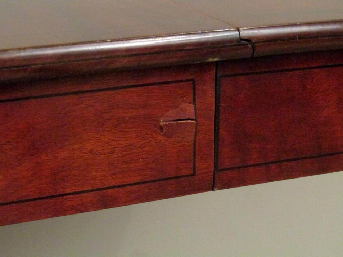 English Regency Style Mahogany Sofa Table - 10