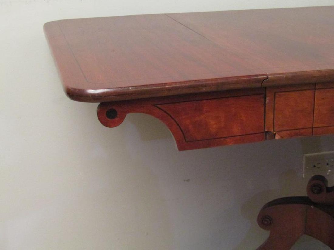 English Regency Style Mahogany Sofa Table - 4