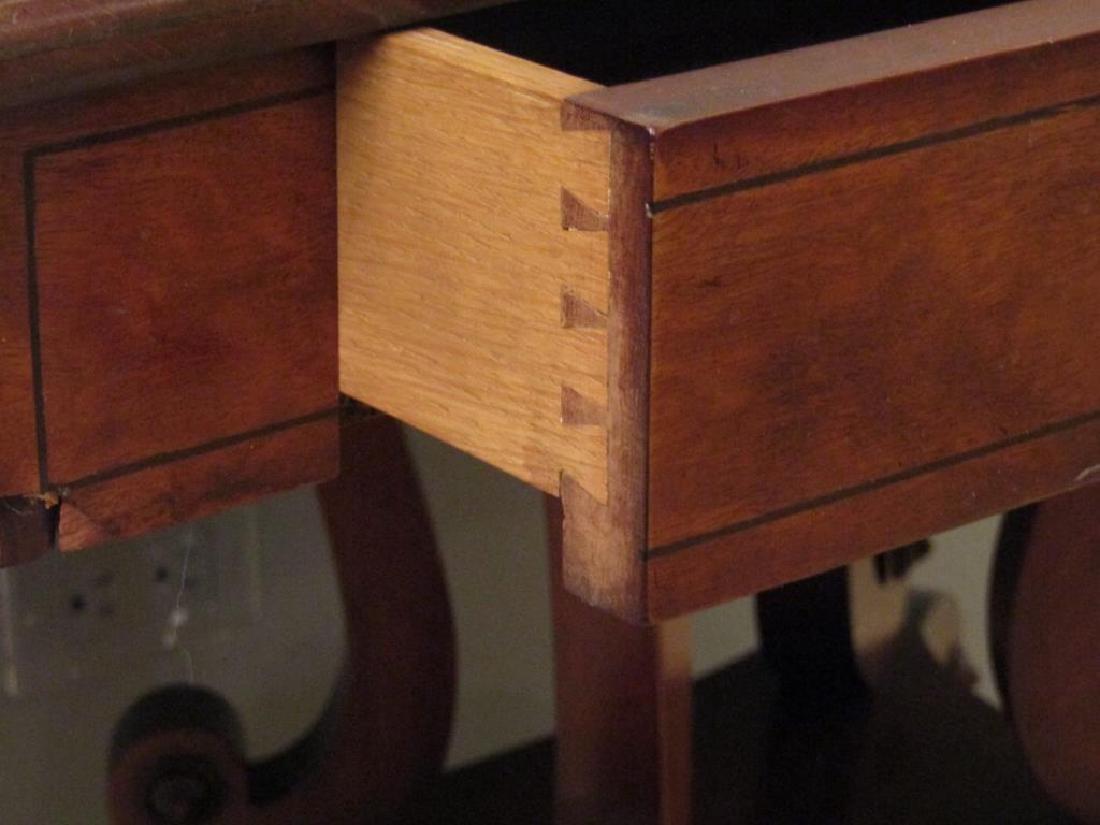 English Regency Style Mahogany Sofa Table - 5
