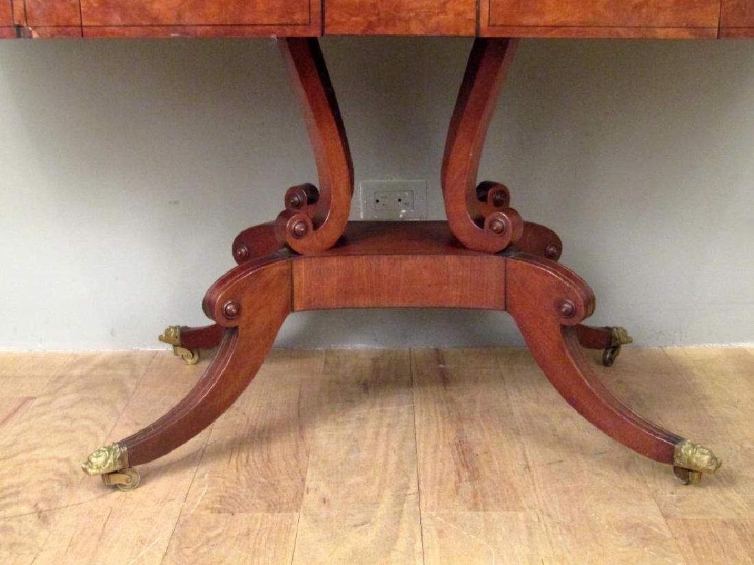 English Regency Style Mahogany Sofa Table - 6