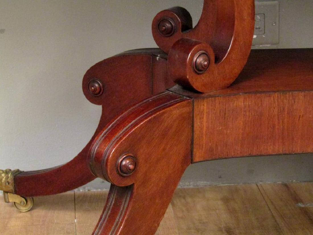 English Regency Style Mahogany Sofa Table - 7