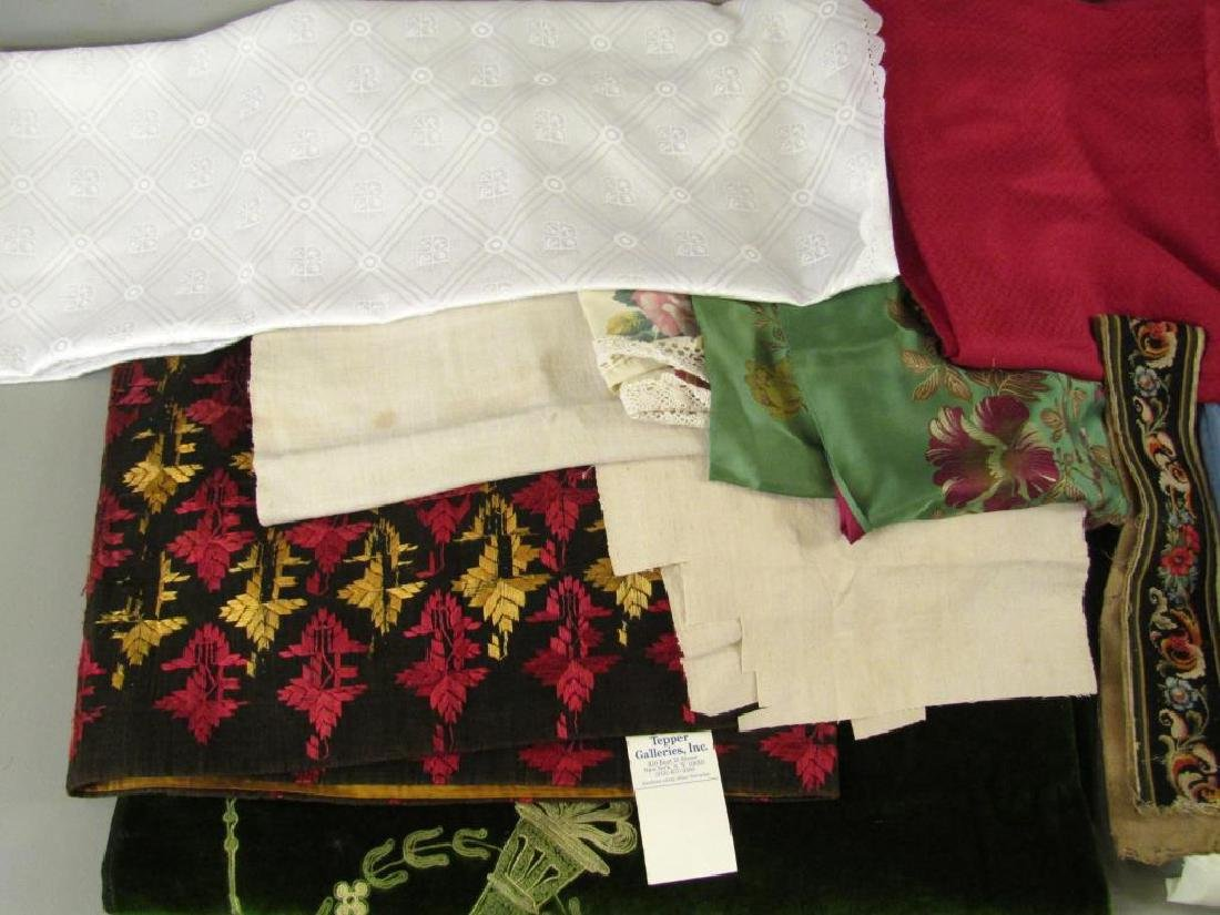 Assorted Textiles and Bolts of Cloth - 2