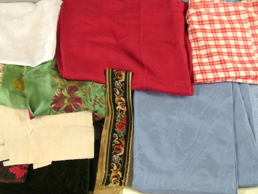 Assorted Textiles and Bolts of Cloth - 3
