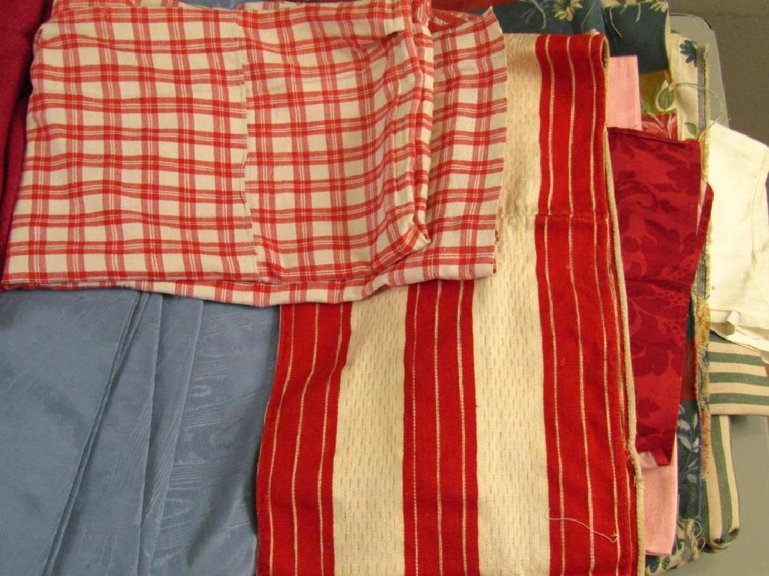 Assorted Textiles and Bolts of Cloth - 4
