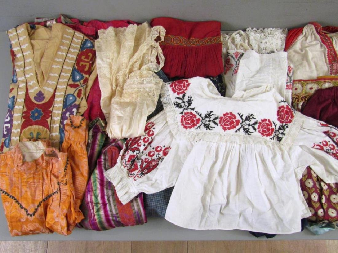 Assorted Vintage Russian and Tibetan Clothing - 3