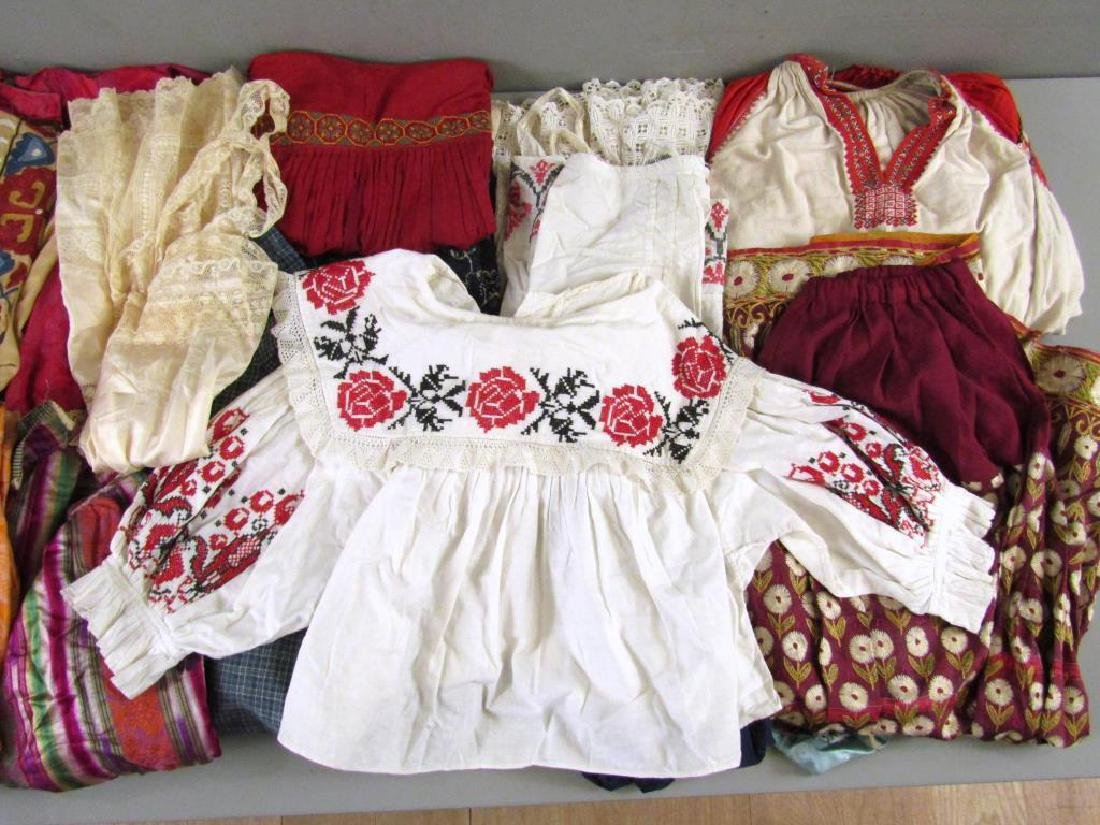 Assorted Vintage Russian and Tibetan Clothing - 4