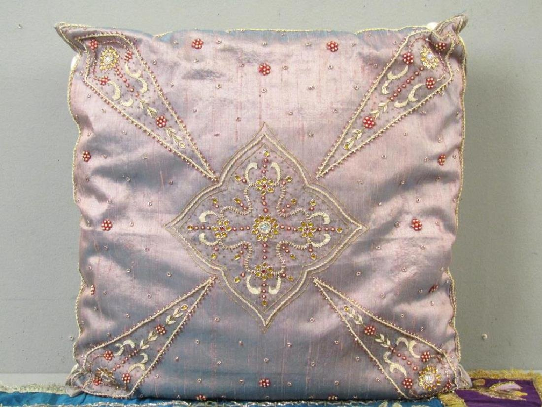 Assorted Religious Textiles and Pillow - 2