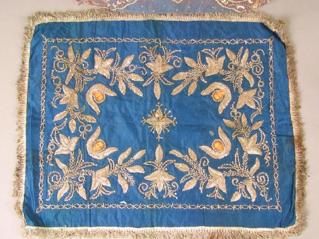 Assorted Religious Textiles and Pillow - 3
