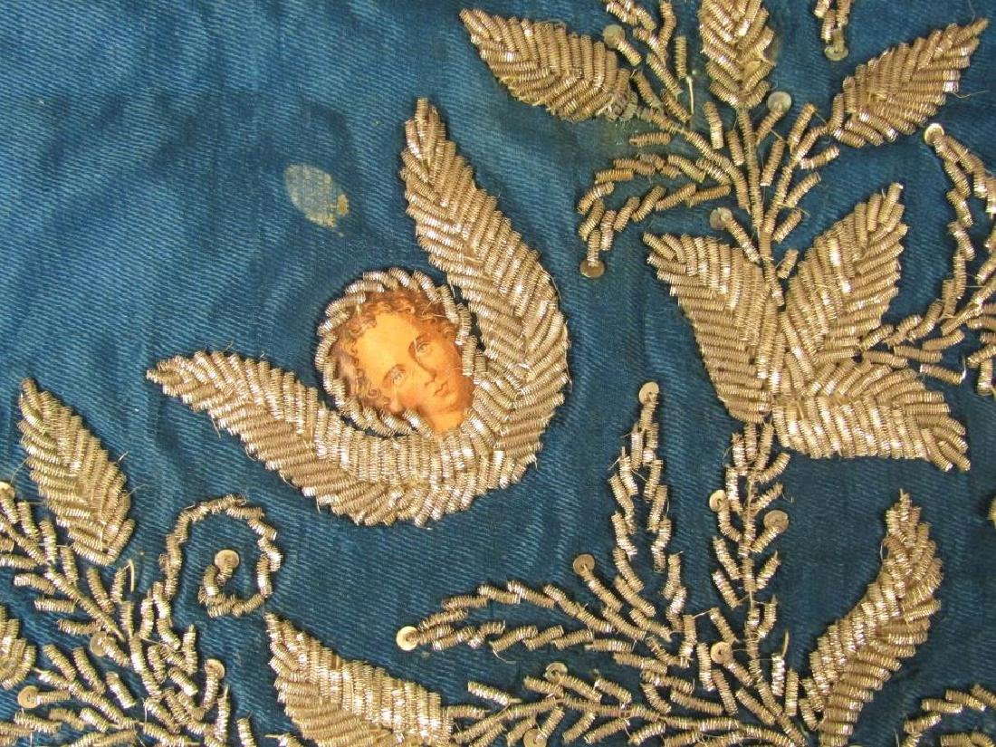 Assorted Religious Textiles and Pillow - 4
