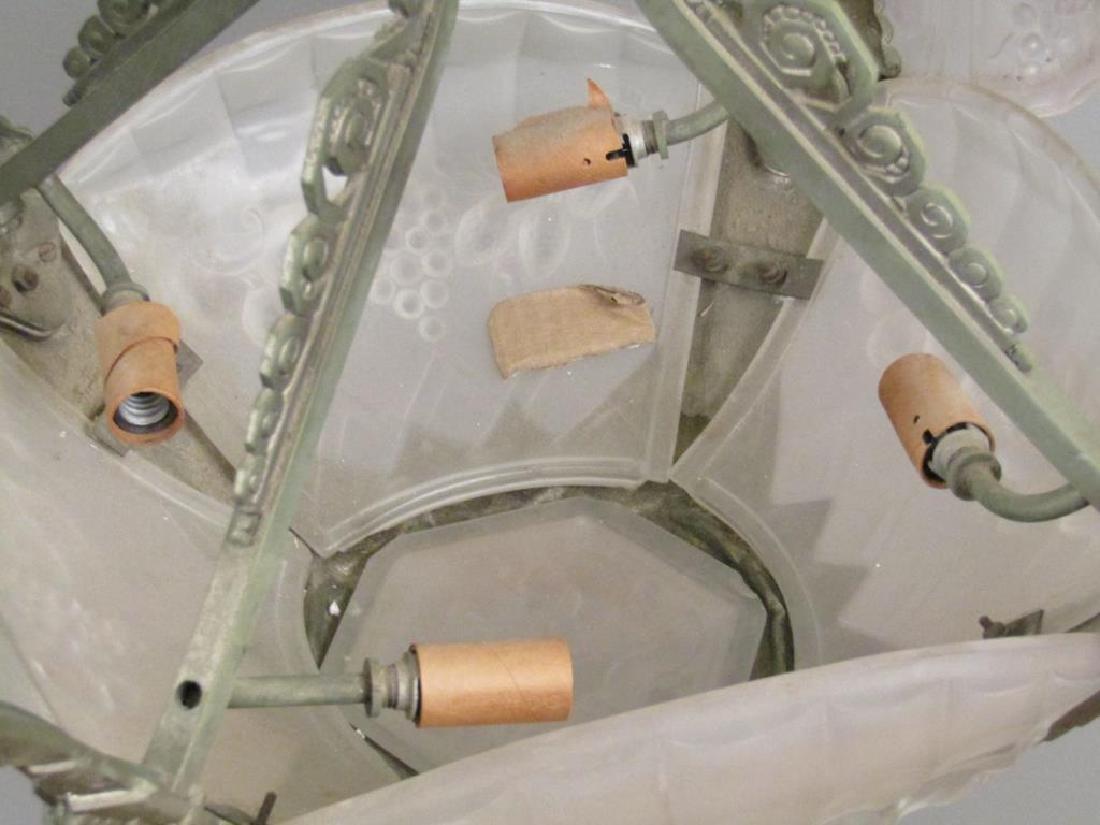 Art Deco Gilles 8 Light Chandelier - 5