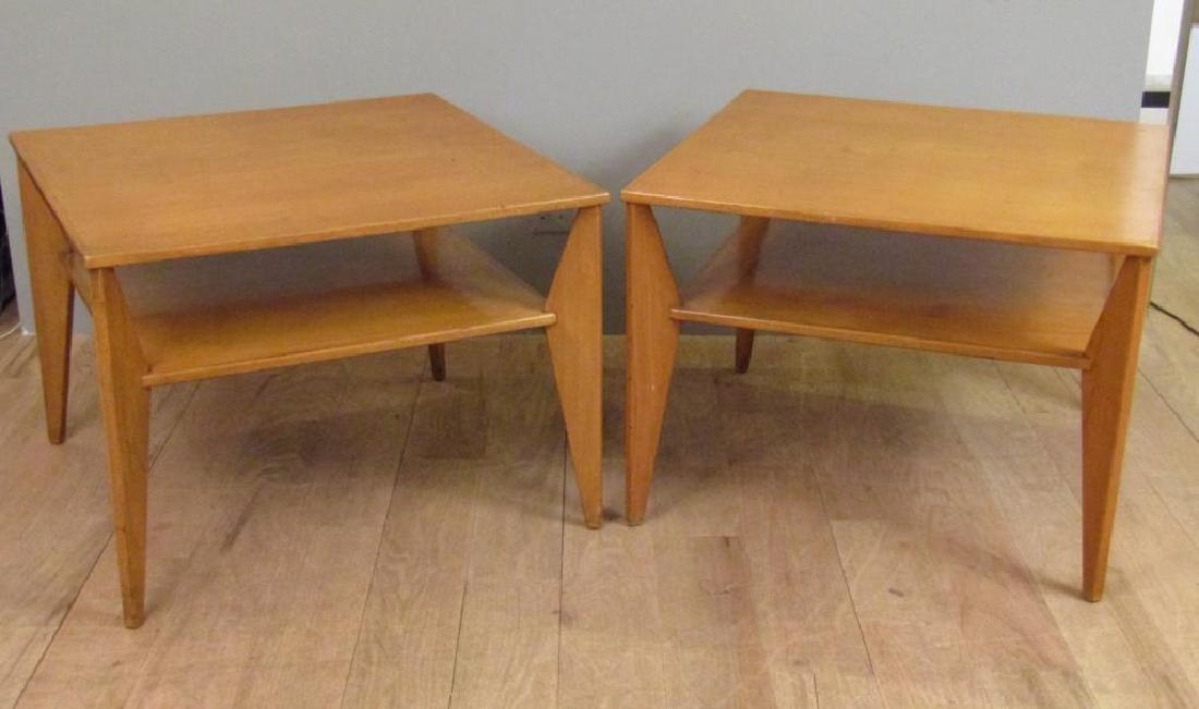 Pair Mid Century Lamp Tables